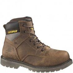 90029 Caterpillar Men's Gunnison Safety Boots - Dark Beige www.bootbay.com