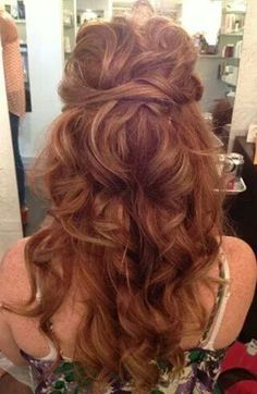 Awesome half up half down!