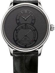 La Cote des Montres : La montre Jaquet Droz Grande Seconde Quantième acier - La magie du temps, dans ses plus infimes instants