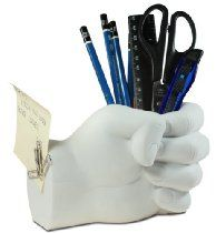 Tech Tools Desktop Madness Series Hand Pen Holder with Magnetic Back