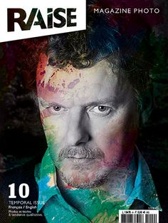 Cover Raise Magazine Issue #10 with Michel Gondry #MichelGondry