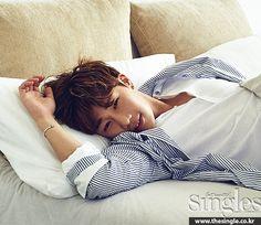 [PHOTO] INFINITE Kim Sunggyu for SINGLES Magazine July 2015 Issue | Nuna Fans