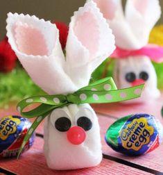 Egy olyan jópofa húsvéti csomagolási ötletet keresel, amivel a boltban vásárolt vagy kézzel készült (csokoládé) húsvéti tojásokat varázsolhatod egyszerűen kedves és különleges húsvéti (locsolkodó) ajándékokká? Próbáld ki ezt az egyszerű, de mégis nagyszerű textil ...