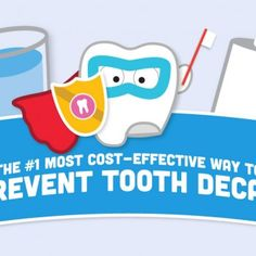 The #1 Most Cost-Effective Way to Prevent Tooth Decay | The Big Authority on Little Teeth | Preventing tooth decay can cost as little as a few cents per day. Find out how in our infographic.