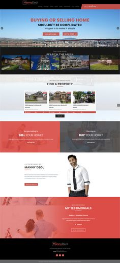 New WordPress website for Mission Realtor Manny Deol. Mobile ready and Responsive. Integrated the MRP IDX feed. Real Estate Site, Make It Simple, Wordpress, Website, Things To Sell