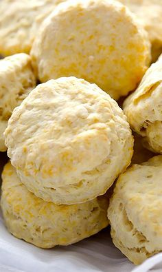 3-ingredients (coconut oil, milk, self-rising flour) biscuits. Ready from scratch to plate in 20 minutes.