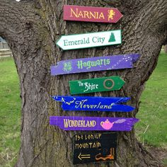 Items similar to 7 Pack Wooden Directional Signs - Choose any 7 signs from our shop on Etsy Directional Signs, Disney Home Decor, Garden Signs, Backyard Signs, Beach Signs, Narnia, Yard Art, Home Depot, Decorating Your Home