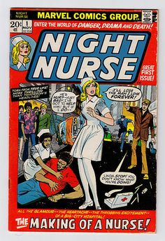 Yeah, right. Sexy nurses are always out nursing on the street at night, everybody knows that.