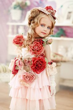 "Anastasia Orub (born May 15, 2008) Russian child model. Photo Studio ""Classic"""