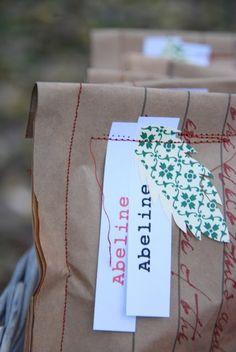 Package sewing