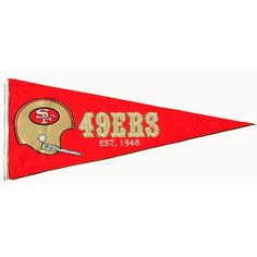 This mid-size collection of pennants x capture the true essence of most of the professional and collegiate teams. Constructed in our high quality wool Nfl Panthers, San Francisco Giants, Applique Designs, Nfl Football, Embroidery Applique, Wool Felt, Fan, Retro, Sports
