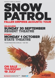 Snow Patrol Fallen Empires Acoustic Tour (2012)