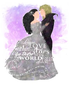 Something I've wanted to do forever. A #labyrinth poster with #Jareth and #Sarah.  #movie #quote #lyrics #Henson #David #Bowie