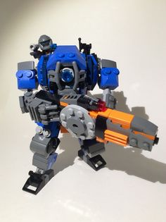 Lego TitanFall 2. Ion Prime. Lego Titanfall, Lego Mechs, Lego Words, Lego Machines, Lego Display, Amazing Lego Creations, Lego Craft, Lego Builder, Lego Robot
