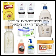 Hate itchy, chapped skin? Know you need a winter skin routine, but want it for less? Here are the best drugstore products to fight off winter skin. Good skin shouldn't cost a fortune!