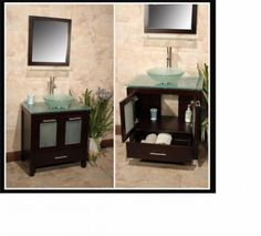 Bathroom vanity set 50% off, new. With free faucet - only $ 698