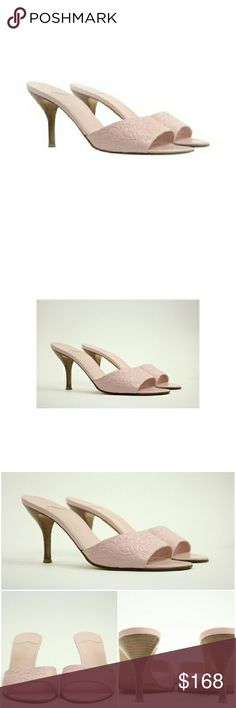 """""""Chanel Ccsty01 Light Baby Pink Mules"""" This item will ship immediately!!  Previously owned.  Made In: Italy  Women's Size: 40.5   Heel Height: 3.25""""  Style Code/Name: 05C G24456X01000 11306 SKU :  Ccsty01 CHANEL Shoes Heels"""