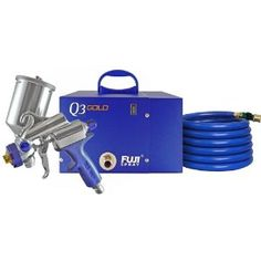Fuji 2893-G-XPC Q3 GOLD HVLP Spray System with Gravity Gun (Tools & Home Improvement)  http://www.amazon.com/dp/B002Z7EM6Y/?tag=pinterestmjp-20