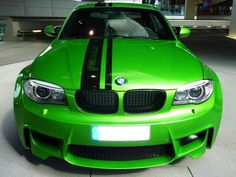 "2012 BMW 1er M Coupé ""Green Mamba"" / BMW Individual"