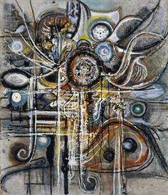 The Center - Richard Pousette-Dart