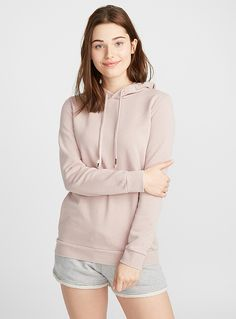 Solid hooded sweatshirt | Twik | Women's Sweatshirts & Hoodies: Shop Online in Canada | Simons Women's Sweatshirts, Hoodies, Juicy Couture, Joggers, Fur Coat, Canada, Clothes For Women, Gift, Jackets