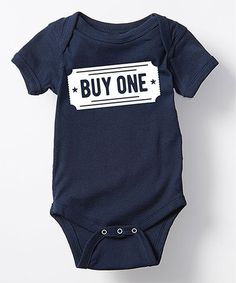 Love this Navy Twin 'Buy One' Bodysuit - Infant on #zulily! #zulilyfinds