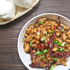 Kung Pao chicken, an irresistible Chinese dish from Szechuan.