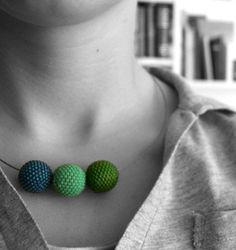 Beaded beads - I really like this.  I like the colors and it would go with the cloths I wear.