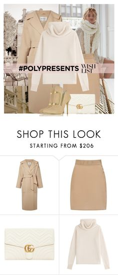 """""""#PolyPresents: Wish List"""" by polybaby ❤ liked on Polyvore featuring Free People, MaxMara, Sophie Cameron Davies, Gucci, Sonia Rykiel, Balmain, contestentry and polyPresents"""
