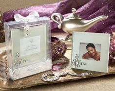 Disney princess inspired jeweled photo frame wedding  favors for a Fairy Tale wedding, as low as $2.04