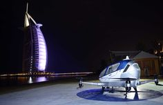 BILL READ FRAeS reports on Dubai's plans to begin operating the world's first aerial taxi service using autonomous passenger-carrying drones.