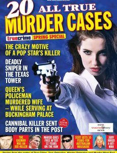 True Crime – Spring Special 2020: English | 86 pages | pdf | 41.48 MB Download from: NitroFlare Charles Whitman, Sugar Ray Robinson, Murder Most Foul, Pdf Magazines, True Detective, Buckingham Palace, True Crime, Mystery, Spring