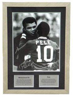 Ali....Pele...... two greats in the world~