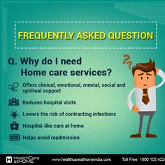 Have questions about health home care services.. Don't worry, we've got you covered