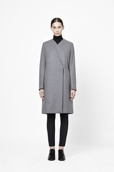 Looking for that perfect extra layer: wool coat by Cos