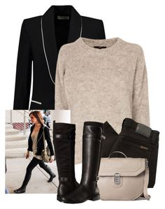 """""""Emma Watson"""" by fashionimagination ❤ liked on Polyvore featuring Étoile Isabel Marant, TIBI, Nudie Jeans Co. and Aerosoles"""