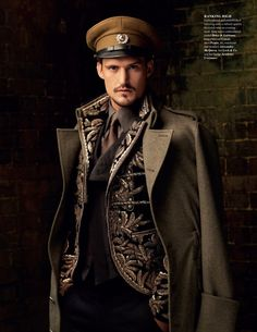 Steampunk military * the most beautiful work, exquisite tailoring and plenty of instruction and how to's!