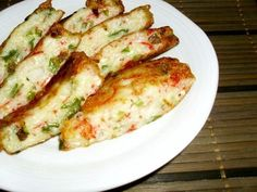 Super Cheap Chewy Tofu (with Imitation Crab Sticks and Green Onions) Recipe - Are you ready to cook? Let's try to make Super Cheap Chewy Tofu (with Imitation Crab Sticks and Green Onions) in your home! Tofu Recipes, Seafood Recipes, Asian Recipes, Cooking Recipes, Hawaiian Recipes, Imitation Crab Recipes, Crab Stick, Japanese Dishes, Japanese Food