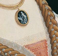 Botticelli c. 1480 Simonetta Vespucci (detail)