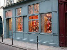 One of my favorite stores for fun, whimsical homegoods: Pylones, Rue Sainte-Croix de la Bretonnerie, Le Marais, Paris