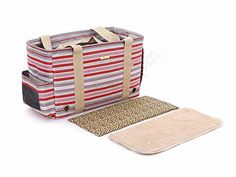 Petsmartpm 130SK Red Stripe Dog Carriers Purse Pet Totes Bag Puppy Handbag Cat Cage Doggy Pouch -- Read more reviews of the product by visiting the link on the image.