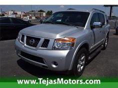 2009 Nissan Armada 4 DR SUV at Tejas Motors in Lubbock Texas