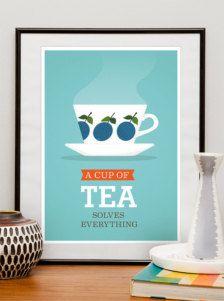 vintage kitchen poster ideas - Google Search