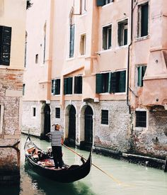Ah Venice, there's truly no place like you.