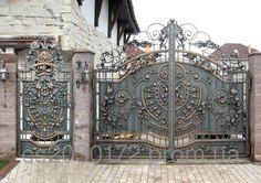 Кованые Ворота и калитка - Старая кузня в Полтавской области