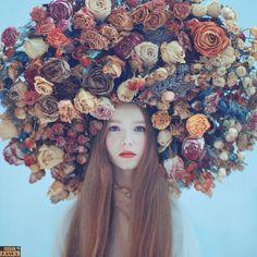 De arrepiar! Rapunzéis da Ucrânia dão show em ensaio de tirar o chapéu - Fotos - R7 Esquisitices