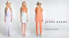Lady on the left, looking swoosh! And it looks like you don't have feet touching the ground. Wear this & you'll levitate. Love it! Jenni Kane resort collection, 2012