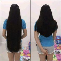 Cut My Hair, Long Hair Cuts, Long Hair Styles, Long Silky Hair, Down Hairstyles, Rapunzel, Hair Goals, Haircuts, Beautiful