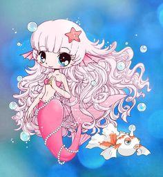 Mermaid Chibi Gift by *YamPuff on deviantART