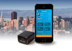 Mojio is a cellular and #GPS device that connects your car's onboard computer (OBD) to the internet, making it part of the Internet of Things.